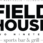 This is the restaurant logo for Fieldhouse 219