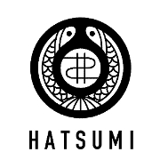 This is the restaurant logo for Hatsumi