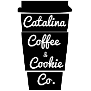 This is the restaurant logo for Catalina Coffee & Cookie Co.