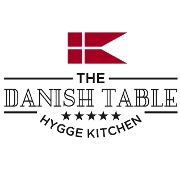 This is the restaurant logo for The Danish Table