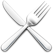 This is the restaurant logo for Fourk Kitchen