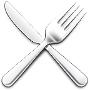 This is the restaurant logo for La Estacion
