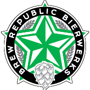 This is the restaurant logo for Brew Republic Bierwerks