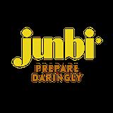 This is the restaurant logo for Junbi