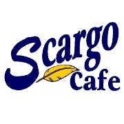 This is the restaurant logo for Scargo Cafe