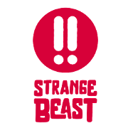 This is the restaurant logo for Strange Beast