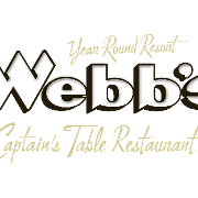 This is the restaurant logo for Webb's Captain's Table