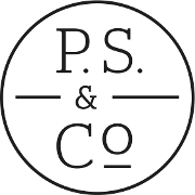 This is the restaurant logo for P.S. & Co.