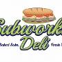 Restaurant logo for Subworks Deli