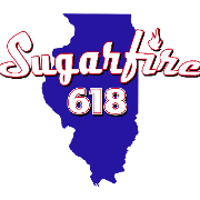 This is the restaurant logo for Sugarfire 618