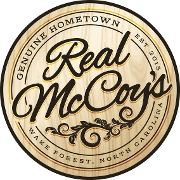 This is the restaurant logo for Real McCoy's