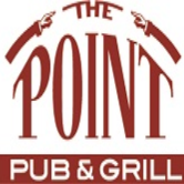 This is the restaurant logo for The Point Pub and Grill