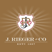 This is the restaurant logo for J. Rieger & Co.
