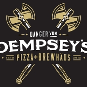 This is the restaurant logo for Danger von Dempsey's