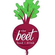 This is the restaurant logo for The Beet