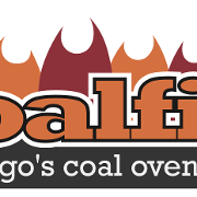 This is the restaurant logo for Coalfire