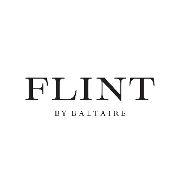 This is the restaurant logo for Flint by Baltaire