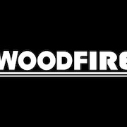This is the restaurant logo for Woodfire Dundee