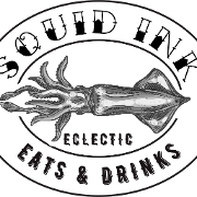 This is the restaurant logo for Squid Ink