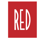 This is the restaurant logo for RED the Steakhouse