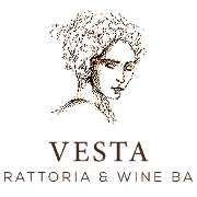 This is the restaurant logo for Vesta Trattoria And Wine Bar