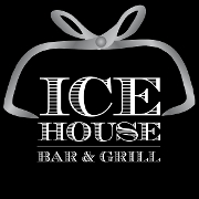 This is the restaurant logo for Ice House Bar & Grill