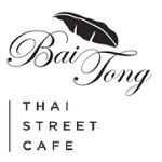 This is the restaurant logo for Bai Tong Thai Street Cafe