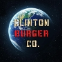 Restaurant logo for Clinton Burger Co.