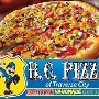 Restaurant logo for BC Pizza of Traverse City