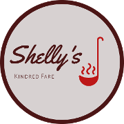 This is the restaurant logo for Shelly's Kindred Fare
