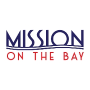This is the restaurant logo for Mission on the Bay