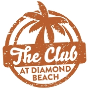 This is the restaurant logo for The Club at Diamond Beach