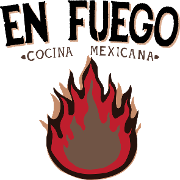 This is the restaurant logo for En Fuego Cocina Mexicana