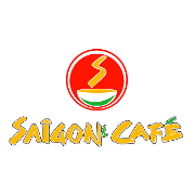 This is the restaurant logo for Saigon Cafe