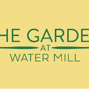 This is the restaurant logo for The Garden at Water Mill