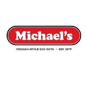 This is the restaurant logo for Michael's Grill & Salad Bar