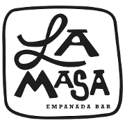 This is the restaurant logo for La Masa Empanada Bar