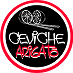 This is the restaurant logo for Ceviche Arigato