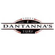 This is the restaurant logo for Dantanna's Surf & Turf