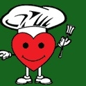 This is the restaurant logo for Freshlys we love cooking