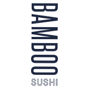 This is the restaurant logo for Bamboo Sushi