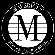 This is the restaurant logo for Maverick's
