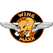This is the restaurant logo for Wing Maxx of Lake Oconee
