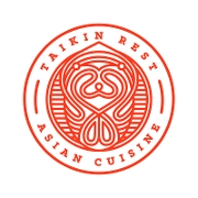 This is the restaurant logo for Taikin Asian Cuisine
