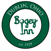 This is the restaurant logo for The Bogey Bar & Grill
