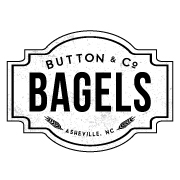 This is the restaurant logo for Button & Co. Bagels