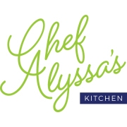 This is the restaurant logo for Chef Alyssa's Family Table Meals