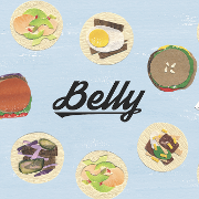 This is the restaurant logo for Belly