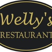 This is the restaurant logo for Wellys Restaurant