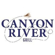 This is the restaurant logo for Canyon River Grill